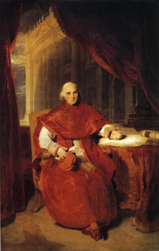 """Cardinal Consalvi"" by Thomas Lawrence - http://www.royalcollection.org.uk/collection/404940/ercole-cardinal-consalvi-1757-1824. Licensed under Public Domain via Wikimedia Commons - https://commons.wikimedia.org/wiki/File:Cardinal_Consalvi.jpg#/media/File:Cardinal_Consalvi.jpg"