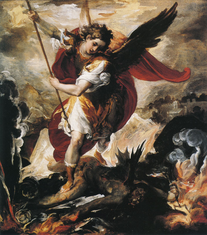 Francesco Maffei St Michael the Archangel Defeating Lucifer